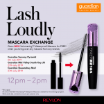 FREE New Revlon Volumazing™ Waterproof Mascara Giveaway! 免费新Revlon浓密防水睫毛膏赠品!