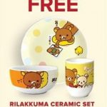 FREE Rilakuma Ceramic Set Giveaway! 免费获得价值RM80精美可爱的Rilakkuma陶瓷餐具!