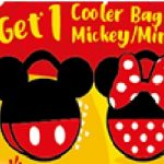 FREE Limited Edition Mickey/Minnie Cooler Bag Giveaway!免费限量版米奇/米妮保温袋赠品!