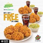 FREE 1 set 3pc Texas Chicken Combo Giveaway!免费一份鸡肉套餐优惠!
