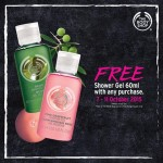 FREE The Body Shop Shower Gel 60ml Giveaway!