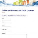 FREE Nature's Path Facial Cleanser Sample to your doorstep!