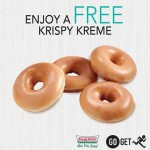 FREE Krispy Kreme doughnuts to your doorstep!