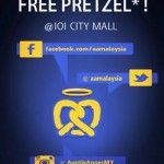 FREE Auntie Anne's  pretzel for you again!