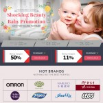11street Shocking Beauty and Baby Promotion!