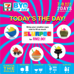 FREE flow Slurpee at only RM2.90!
