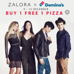 Domino's Pizza Buy 1 FREE 1 Pizza!