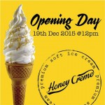 Buy 1 Get 1 FREE Honey Creme soft ice-cream Promotion!