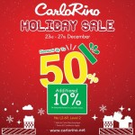 Carlo Rino discount up to 50%off Promotion!
