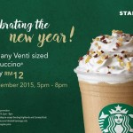Starbucks Venti sized Frappuccino at only RM12!