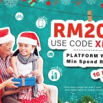 FREE Logon RM20off Discount Code Giveaway!
