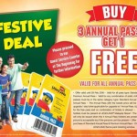 LegoLand Annual Pass Buy 3 Annual Passes FREE 1 Passes Promotion!