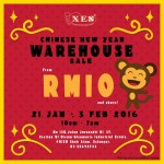XES Shoes Chinese New Year Warehouse Sale!