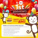 LOGON Happy Deals from RM1 only!
