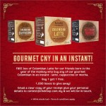 FREE Chek Hup box of Colombian Latte Giveaway!