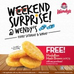 FREE Wendy's Medallion Hash Browns (4pcs) Giveaway!
