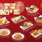 The Manhattan Fish Market Offer Rising Stars at RM16 per Person Only!