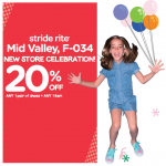 Stride Rite Offer 20%off Storewide Promotion!