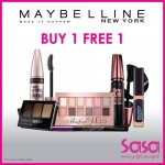 Maybelline Buy 1 FREE 1 Promotion!