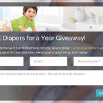 FREE 1 Year Supply of Diapers Giveaway!