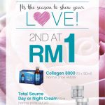 H2O Plus Offer 2nd at RM1 Promotion!