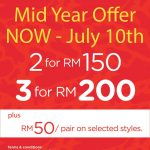 CROCS outlet shop Mid Year Offer!