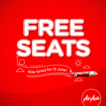 AirAsia Free Seat Coming Soon!