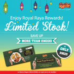 Kenny Rogers Roasters Royal Raya Rewards Save up to RM200!