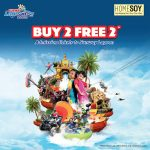 FREE Buy 2 FREE 2 voucher to Sunway Lagoon Giveaway!