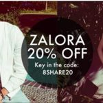 Zalora Offer 20%off With Special Code Giveaway!