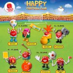 FREE McDonald's The Happy Football Club (Happy Meal toy series) Giveaway!