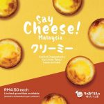 Uncle Tetsu Cheesecake New Lite & Creamy Cheesetart only at RM4.50 each!