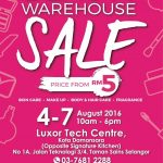 Beauty Warehouse Sales, Price As Low As RM5 only!