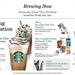 Starbucks Offer Opening Special Promo!