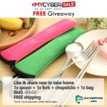 FREE Portable Stainless Steel Cutlery Set Giveaway!