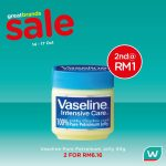 Watsons 4-Day Weekend Special!