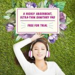 FREE Ultra-Thin Sanitary Pad For 2 Month Usage Giveaway!