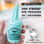 FREE Cups of Milkcow Ice Cream Giveaway!