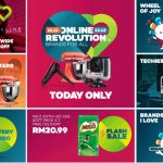 Lazada Online Revolution 11.11 The Biggest Online Shopping, Up To 95%off Discount!