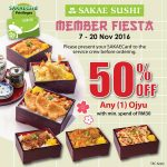 Sakae Offer 50% OFF Your Favourite Ojyu Promo!