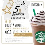 Starbucks Offer Grande Sized Handcrafted Beverage at only RM11 Deals!