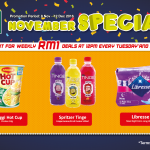 7-Eleven November Special Deals At RM1 Only!