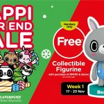 Watsons Happi Year End Sale + FREE Collectible Happi Playground Figurines Giveaway!