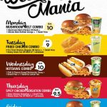 Wendy's Offer Weekday Mania Combo Set, Price From RM9 Only!