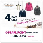Winter Time Warehouse Clearance!