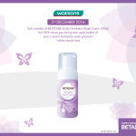 FREE A Bottle of BETADINE® Daily Feminine Wash Foam 100ml Giveaway!