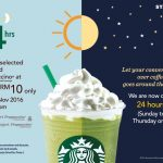 Starbucks Offer Selected Tall Sized Frappuccino At RM10 Only!