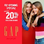 Gap Kids Offer 30% off Storewide and Extra 20%off Discount Promo!