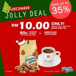 Famous Amos Jolly Deal Cookies And Americano Coffee at RM10 Only!