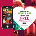 FREE The Body Shop Mini Product Giveaway!